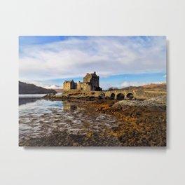 Eileen Donan Castle Metal Print