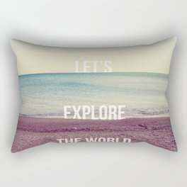 Explore Rectangular Pillow