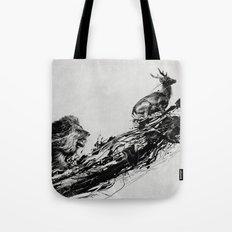 Intense Chasing Tote Bag
