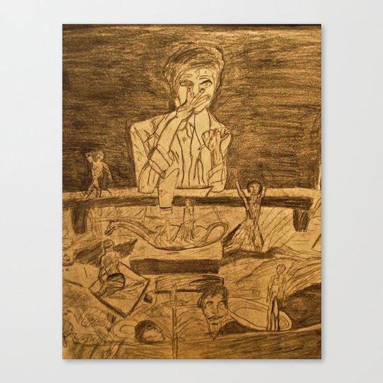 mind at work  Canvas Print