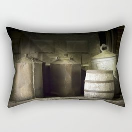 Dusty Old Cans Rectangular Pillow