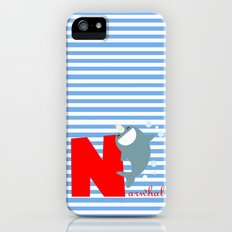 n for narwhal Slim Case iPhone (5, 5s)