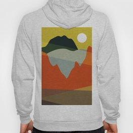 Geometric Landscape XI Hoody