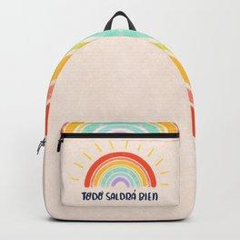 Todo Saldrá Bien Arcoíris Backpack