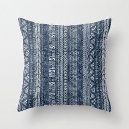 Mud Cloth Stripe Throw Pillow