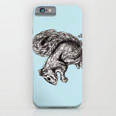 Blue Woodland Creatures - Squirrel iPhone 6s Slim Case