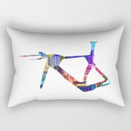 Bicycle Frame Rectangular Pillow