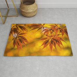 Maple in the gold fall Rug