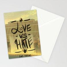 Love VS Hate - Las Vegas - Stationery Cards