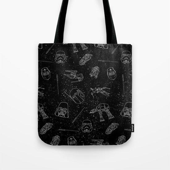 Star Doodles Tote Bag