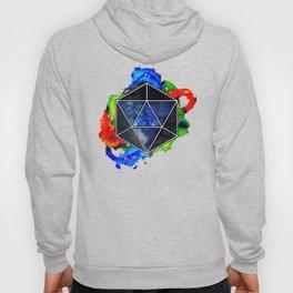 d20 Icosahedron of Imagination Hoody