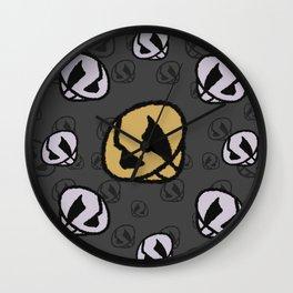 Team Skull Wall Clock