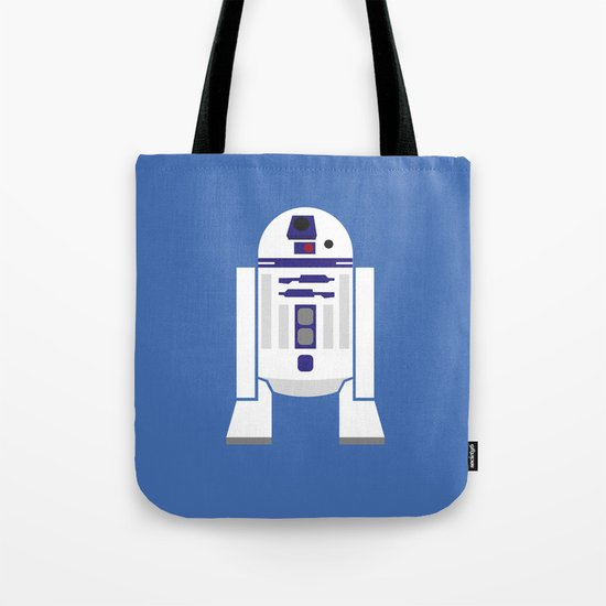Star Wars Minimalism - R2D2 Tote Bag