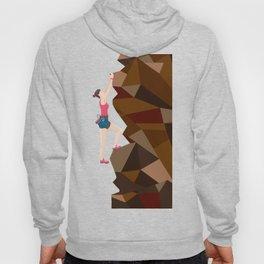 Vintage Cool Girl Rock Climbing Hoody