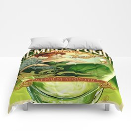 Vintage poster - Tempus Fugit Absinthe Comforters