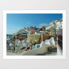 Thira Beauty Art Print