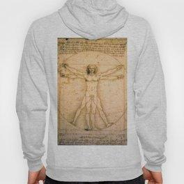 Vitruvian Man by Leonardo da Vinci Hoody