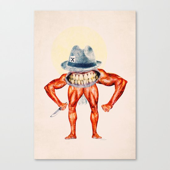 Brute Canvas Print