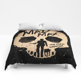 Mad Max the road warrior art Comforters