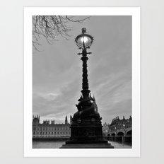 Embankment Art Print