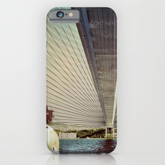 Connecting Two Continents  iPhone & iPod Case
