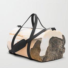 Yosemite Valley Burn - Sunrise Duffle Bag