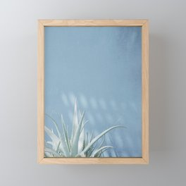 Abstract succulent Framed Mini Art Print