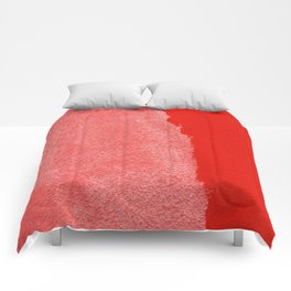 Two Times Red Comforters