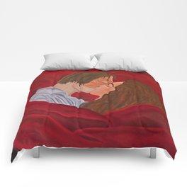 Phantom & Christine Kiss Comforters