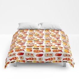 Sushi vibes Comforters