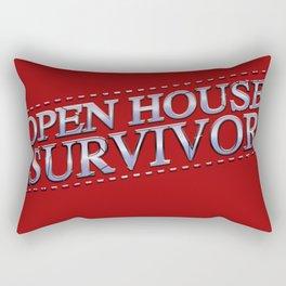 Open House Survivor Rectangular Pillow