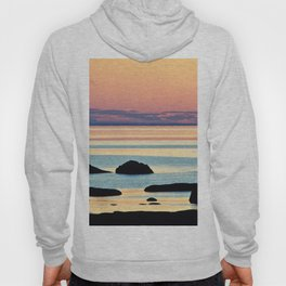 Circle of Rocks and the Sea at Dusk Hoody