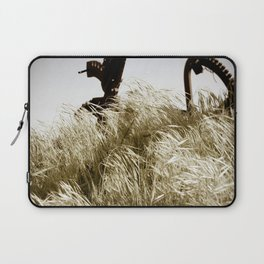 Tall Grass in the Wind Laptop Sleeve