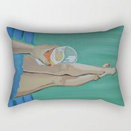 IPAs on the Porch Swing Rectangular Pillow