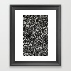 Radiating Framed Art Print