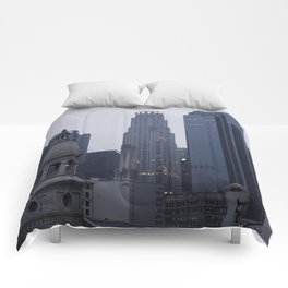 Los Angeles from Little Tokyo Comforters