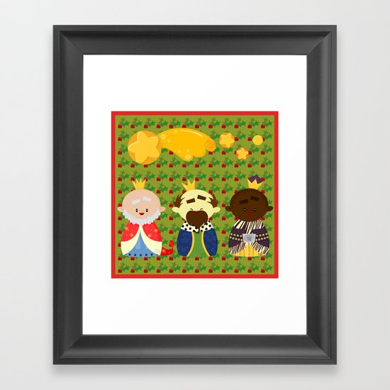 Three Kings (Reyes Magos) Framed Art Print