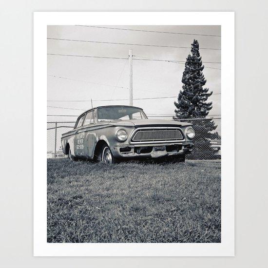Rusty Rambler Art Print