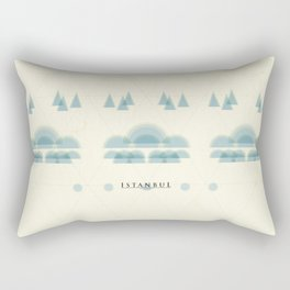 Istanbul Poster Rectangular Pillow