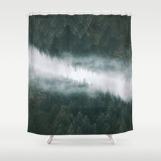 Forest Reflections IV Shower Curtain
