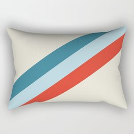 retro stripes 2 Rectangular Pillow