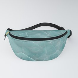 Ice Green Marble Fanny Pack