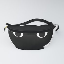 Black eyes cat Fanny Pack