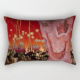 A Spook in the Thistles Rectangular Pillow