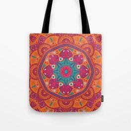 Colorful Mandala Pattern 017 Tote Bag