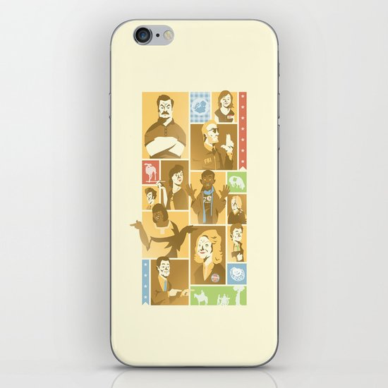 Parks & Rec iPhone & iPod Skin