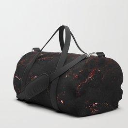 Dark Red Marble Sporttaschen