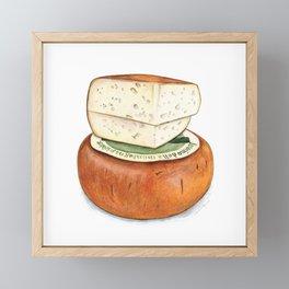 Pecorino Cheese Framed Mini Art Print