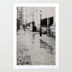 on the streets of cambridge ...  Art Print
