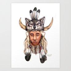 WOLF / Tyler, The Creator Art Print